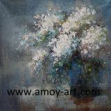 ホーム装飾のためのハンドメイドの多彩な花の油絵