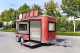 Rimorchio dell'alimento/rimorchio spuntino/carrello mobile dell'automobile della cucina da vendere