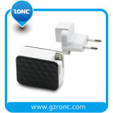 Nouvelle conception de la forme de lignes de réseau Plug double chargeur USB remplaçable