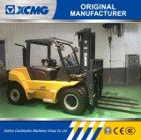 Carrello elevatore diesel di XCMG un diesel da 6 tonnellate, spostamento laterale, albero del contenitore delle 3 fasi con la fase 3