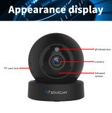2 Kamera Megapixel Pixel WiFi Abdeckung-Video IR-drahtlose IP-Onvif PTZ