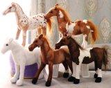 Het nieuwe Paard van de Pluche van de Uitrusting van Squeaker van het Stuk speelgoed van de Pluche Toestel Gevulde