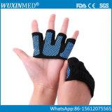 Cuatro dedos de manos del entrenamiento deportivo de protección guantes de levantamiento de pesas