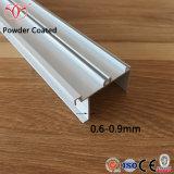 De Custmoized Geanodiseerde Hoek van het Aluminium van het Aluminium voor Bouwmateriaal