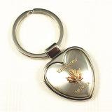 Coeur du Canada l'anneau de chaîne de clé en métal de souvenirs