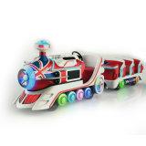 Les enfants d'Arcade Machine de jeu intérieure électrique kiddie rides Long Petit Train Trackless pour la vente de l'Amusement Park Centre commercial de l'équipement