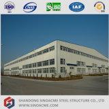 Sinoacme는 강철 구조물 작업장 건물을 전 설계했다