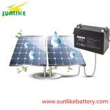Батарея 12V100ah 200ah 250ah 300ah геля перезаряжаемые глубокого цикла солнечная