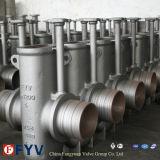 API 6D подземных плоские запорный клапан