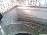 Refoulées tempéré le verre feuilleté pour balustrade