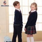 Uniforme de los suéteres de Nueva Inglaterra la escuela primaria de la fábrica de uniformes para niños