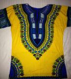 Рубашка Dashiki верхних частей африканской оптовой продажи рубашки одежды изготовленный на заказ дешевая Unisex