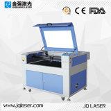 Máquina de gravura Jq9060 do laser do frasco de vidro