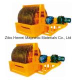Séparateur magnétique, produits de queue déchargeants sans eau réutilisant la machine d'abattage