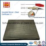Placa folheada de aço explosiva do cobre Q345D do T2 da solda C11000