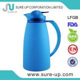 Brocca interna di vetro di plastica blu di vuoto dell'acqua del Thermos del caffè (JGGW)