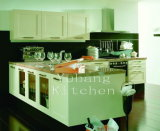 In het groot Houten Keukenkast (keukenMeubilair #M2012-29)
