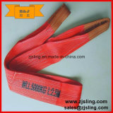 Ce, imbracatura di sollevamento della tessitura del poliestere di GS 6t 6tx1m (personalizzata)