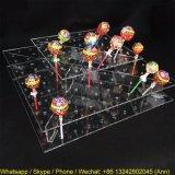 アクリルのロリポップの陳列台、アクリルキャンデーの菓子のホールダー