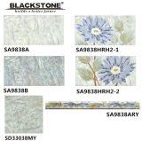 300x600mm la impresión de inyección de tinta de piso de cerámica y azulejos de pared con flor patrón (SA9838A)