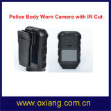 "1080P 2 "" GPS IRの夜間視界の警察のボディによって身に着けられているカメラ"