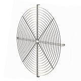 De Grill/het Traliewerk van de Ventilator van de Motor van de Wacht van de Ventilator van het Staal van de Deklaag van pvc