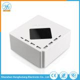 Portátil de viagem 6 USB 5V/8um carregador de telemóvel com 1,5m