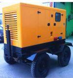 移動式トレーラーの発電機かディーゼル生成
