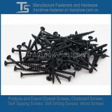 3.5*25mm C1022 Hardend Fosfato Preto Aço Parafusos pladur