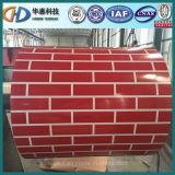 Bobine d'acier galvanisé prélaqué par brique