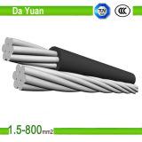 Câble isolé aérien en aluminium d'ABC de câble du faisceau XLPE de qualité