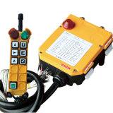 Télécommandes F24-6D de grue sans fil par radio industrielle sûre