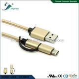 Mirco USB et câble C à USB2.0 de type pour tous les dispositifs androïdes