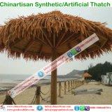 Natuurlijk kijk Synthetisch met stro bedekken voor Paraplu van het Strand van de Bungalow van het Water van het Plattelandshuisje van de Staaf Tiki/van de Hut Tiki de Synthetische Met stro bedekte