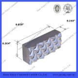 Inserção personalizada do prendedor da maxila do carboneto de tungstênio Yg8