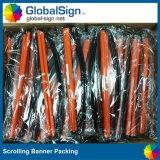 Bandiera incoraggiante del rotolo della mano del ventilatore del vinile di colore completo del fornitore