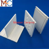 Placa e carcaça cerâmicas da alumina da Desgastar-Resistência da pureza elevada da espessura 40mm