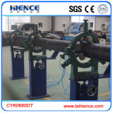 PVC PE Pipe CNC Pipe Threading machine de tour de coupe Cyk0660dt