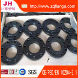 Schwarzer Lack-Platten-Kohlenstoffstahl-Flansch