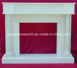 Design simples Fireplace Mantel para Home Decoration