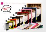Hot Sell Wooden Color Puzzle Collage Moldura para decoração de casamento