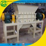 Residuos domésticos, basura médica, trituradora biaxial/pulverizador
