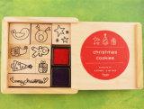 Caixa de selo de borracha de selo de selo de série de Natal DIY