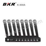 8 VHF CH Système de microphone sans fil classique Réunion K-808A