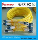 LC Sm dúplex de fibra óptica Cable de conexi n