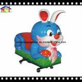 2018年のグループの娯楽施設の子供の乗車のウサギの振動車