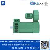 O IE3 Indução 135kw 380V 25 Hz AC MOTOR ELÉCTRICO