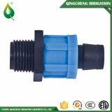 Landwirtschafts-Bewässerung-Verschluss-Band-Plastikstück-Rohrfitting