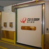 Eléctricos rápidos del alto rendimiento limpian ruedan para arriba la puerta
