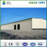 Edificio China de la estructura de acero con los paneles de las lanas de la fibra de 50m m
